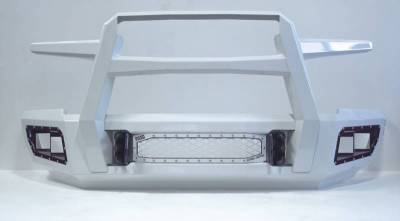 Flog Industries - Flog Industries FISD-G2535-0811F-S Front Bumper with Sensor Holes GMC Sierra 2500HD/3500 2007-2010 - Image 2