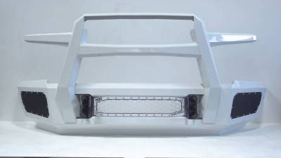 Flog Industries - Flog Industries FISD-D2535-0609F-S Front Bumper with Sensor Holes Dodge RAM 2500/3500 2006-2009 - Image 5
