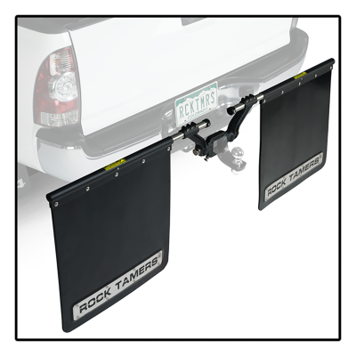 "Rock Tamers - Rock Tamers 00110 Adjustable Mud Flap System for 2.5"" Receiver - Image 6"
