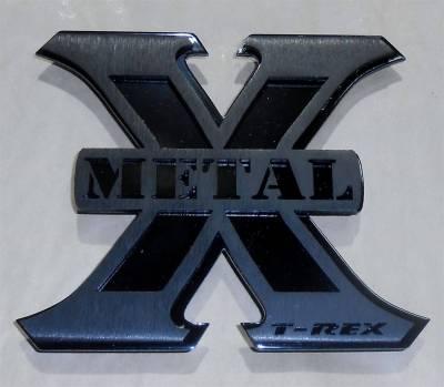 Emblem - Emblem - T-Rex Grilles - T-Rex Grilles 6710011 X-Metal Series Logo Badge