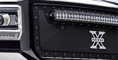 T-Rex Grilles - T-Rex Grilles 6714511-BR Stealth X-Metal Series Mesh Grille Assembly - Image 2