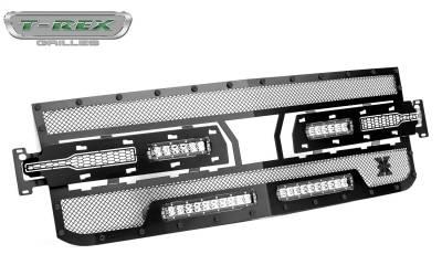 T-Rex Grilles - T-Rex Grilles 6311261-BR Stealth Torch Series LED Light Grille - Image 1
