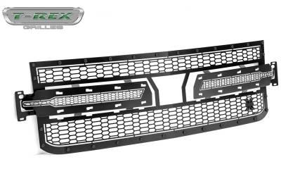 T-Rex Grilles - T-Rex Grilles 7711261-BR Stealth Laser X Series Grille - Image 1