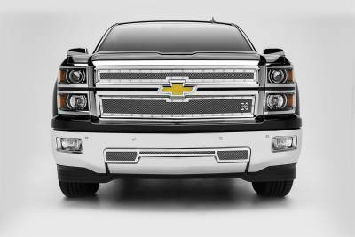 T-Rex Grilles - T-Rex Grilles 6711200 X-Metal Series Studded Mesh Grille Overlay - Image 1