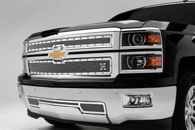 T-Rex Grilles - T-Rex Grilles 6711200 X-Metal Series Studded Mesh Grille Overlay - Image 2