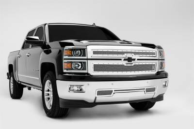 T-Rex Grilles - T-Rex Grilles 6711200 X-Metal Series Studded Mesh Grille Overlay - Image 3