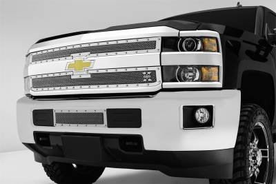 T-Rex Grilles - T-Rex Grilles 6711220 X-Metal Series Studded Mesh Grille Overlay - Image 3