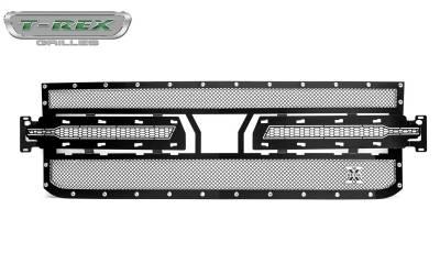 T-Rex Grilles - T-Rex Grilles 6711261 X-Metal Series Studded Mesh Grille - Image 1