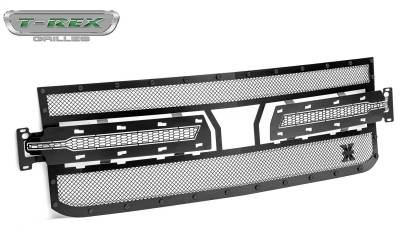 T-Rex Grilles - T-Rex Grilles 6711261-BR Stealth X-Metal Series Mesh Grille Assembly - Image 2