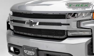T-Rex Grilles - T-Rex Grilles 6711261-BR Stealth X-Metal Series Mesh Grille Assembly - Image 4