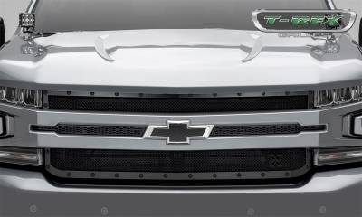 T-Rex Grilles - T-Rex Grilles 6711261-BR Stealth X-Metal Series Mesh Grille Assembly - Image 5