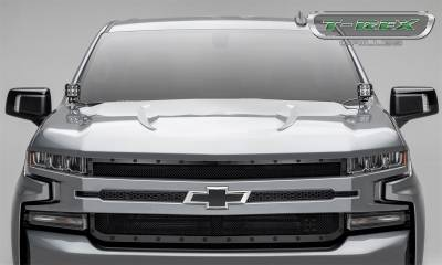 T-Rex Grilles - T-Rex Grilles 6711261-BR Stealth X-Metal Series Mesh Grille Assembly - Image 7