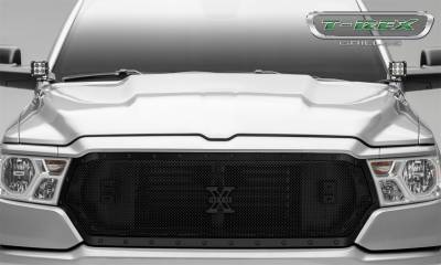 T-Rex Grilles - T-Rex Grilles 6714651-BR Stealth X-Metal Series Mesh Grille Assembly - Image 3