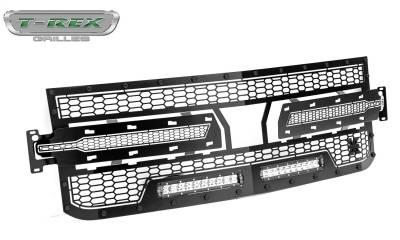 T-Rex Grilles - T-Rex Grilles 7311261-BR Stealth Laser Torch Series Grille - Image 1