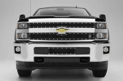 T-Rex Grilles - T-Rex Grilles 6711221 X-Metal Series Studded Mesh Grille Overlay - Image 2