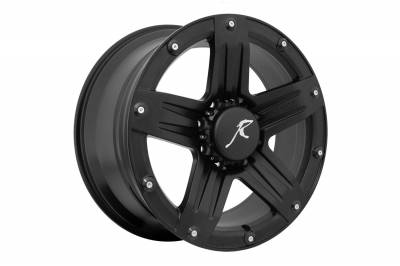Wheels and  Accessories - Wheel -Aluminum - Raptor - Raptor 311B-209-8180+12 311 Series Raptor Wheel