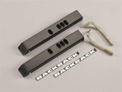 Tonneau Cover Accessories - Tonneau Cover Headache Rack Adapter - Backrack - Backrack 92512 Tonneau Cover Adaptor
