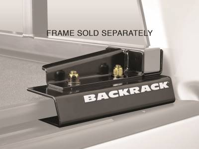 Tonneau Cover Accessories - Tonneau Cover Hardware Kit - Backrack - Backrack 50112 Tonneau Cover Hardware Kit