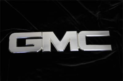 Emblem - Grille Emblem - T-Rex Grilles - T-Rex Grilles 19205 Billet Bolt-On GMC Emblem