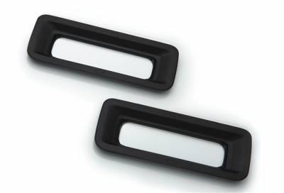 Exterior Lighting - Back Up Light Bezel - T-Rex Grilles - T-Rex Grilles 6910121 Defenderworx Reverse Light Bezel