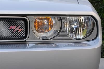 Head Lights and Components - Head Light Bezel Set - T-Rex Grilles - T-Rex Grilles 11415 T1 Series Headlamp Bezel