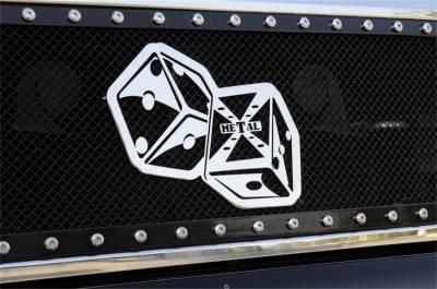 Emblem - Grille Emblem - T-Rex Grilles - T-Rex Grilles 6701022 X-Metal Series The Hustler Grille Badge