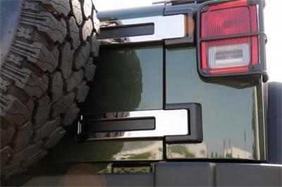 T-Rex Grilles - T-Rex Grilles 10485 T1 Series Spare Tire Carrier Hinge Kit