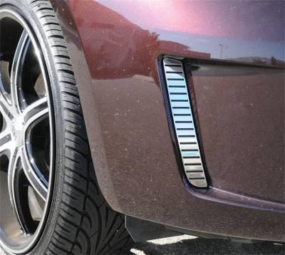 Fender Trim - Side Vent Grille - T-Rex Grilles - T-Rex Grilles 10973 Billet Series Side Vent Insert