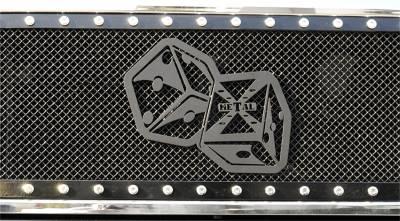 Emblem - Grille Emblem - T-Rex Grilles - T-Rex Grilles 6701021 X-Metal Series The Hustler Grille Badge