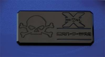 Emblem - Emblem - T-Rex Grilles - T-Rex Grilles 6800031 X-Metal Series Man-O-War Body Side Badge
