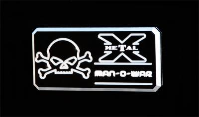 Emblem - Emblem - T-Rex Grilles - T-Rex Grilles 6800033 X-Metal Series Man-O-War Body Side Badge