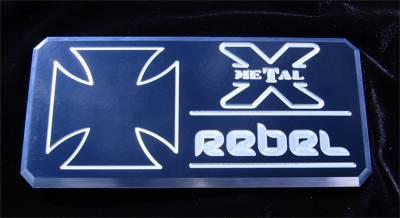 Emblem - Emblem - T-Rex Grilles - T-Rex Grilles 6900013 X-Metal Series Rebel Series Body Side Badge