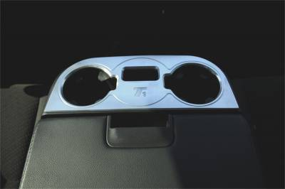 Cup Holder - Cup Holder - T-Rex Grilles - T-Rex Grilles 11110 T1 Series Billet Interior Center Console Cup Holder
