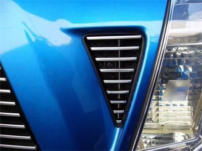 Fender Trim - Side Vent Grille - T-Rex Grilles - T-Rex Grilles 20896 Billet Series Side Vent Insert