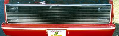 Grille - Grille - T-Rex Grilles - T-Rex Grilles 20010 Billet Series Grille