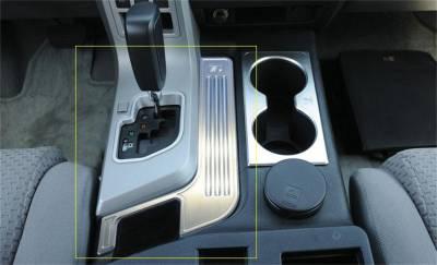 Floor Console Trim - Floor Console Trim - T-Rex Grilles - T-Rex Grilles 11959 T1 Series Billet Interior Center Console Trim