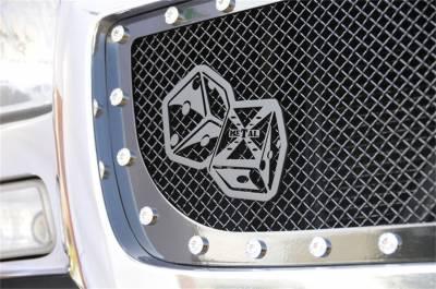Emblem - Grille Emblem - T-Rex Grilles - T-Rex Grilles 6701011 X-Metal Series The Hustler Grille Badge