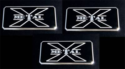 Emblem - Emblem - T-Rex Grilles - T-Rex Grilles 6700033 X-Metal Series Body Side Badge