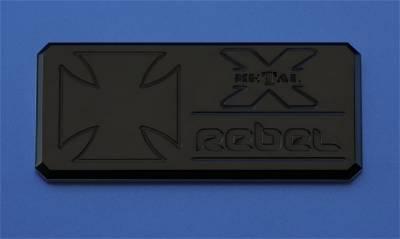 Emblem - Emblem - T-Rex Grilles - T-Rex Grilles 6900011 X-Metal Series Rebel Series Body Side Badge