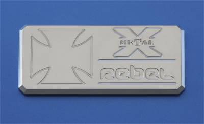 Emblem - Emblem - T-Rex Grilles - T-Rex Grilles 6900012 X-Metal Series Rebel Series Body Side Badge