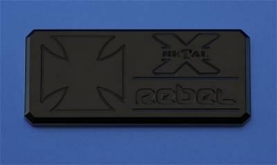 Emblem - Emblem - T-Rex Grilles - T-Rex Grilles 6900031 X-Metal Series Rebel Series Body Side Badge