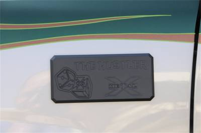 Emblem - Emblem - T-Rex Grilles - T-Rex Grilles 6901011 X-Metal Series The Hustler Series Body Side Badge
