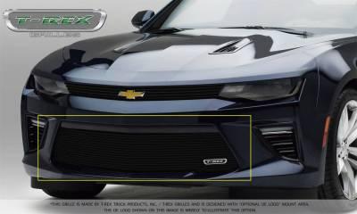 T-Rex Grilles 25036B Laser Billet Series Bumper Grille
