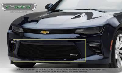 T-Rex Grilles 25033B Custom Series Bumper Grille Overlay