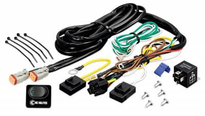 Electrical - Lighting and Body - Flasher Units/Fuses/Circuit Breakers - KC HiLites - KC HiLites 6315 Wire Harness w/Relay