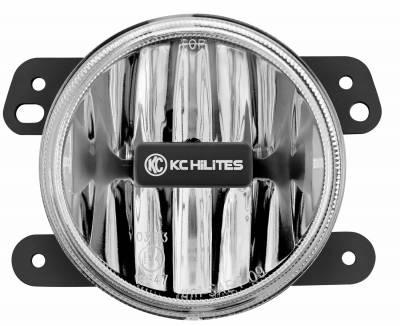 Fog/Driving Lights and Components - Fog Light Kit - KC HiLites - KC HiLites 496 Gravity Series LED Fog Light