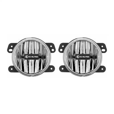 Fog/Driving Lights and Components - Fog Light Kit - KC HiLites - KC HiLites 497 Gravity Series LED Fog Light