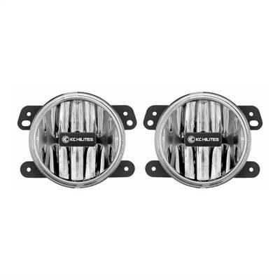 Fog/Driving Lights and Components - Fog Light Kit - KC HiLites - KC HiLites 498 Gravity Series LED Fog Light
