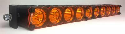 Fog/Driving Lights and Components - Fog/Driving/Offroad Light Shield - KC HiLites - KC HiLites 72100 Flex Shield