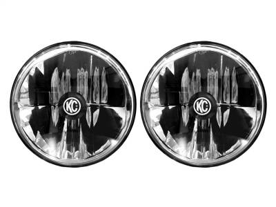 Fog/Driving Lights and Components - Driving Light - KC HiLites - KC HiLites 42351 7 in. LED Headlight